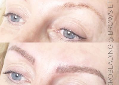 Microblading at Brows Etc