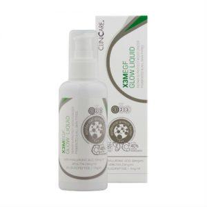 Glow liquid moisturiser Clinicare toner pigmentation hyaluronic acid